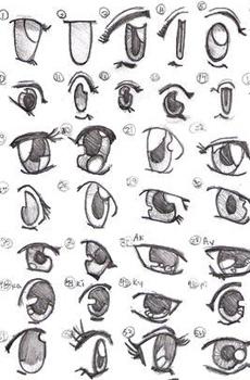 2 Ways to Draw Eyes StepbyStep  wikiHow